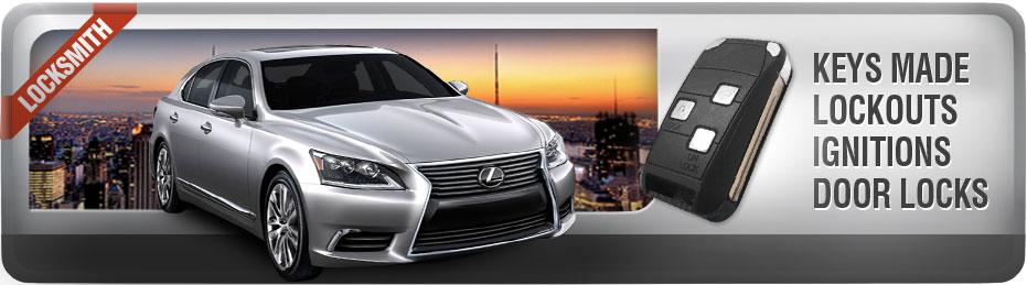 Lexus Locksmith Car Key Replacement Amerikey